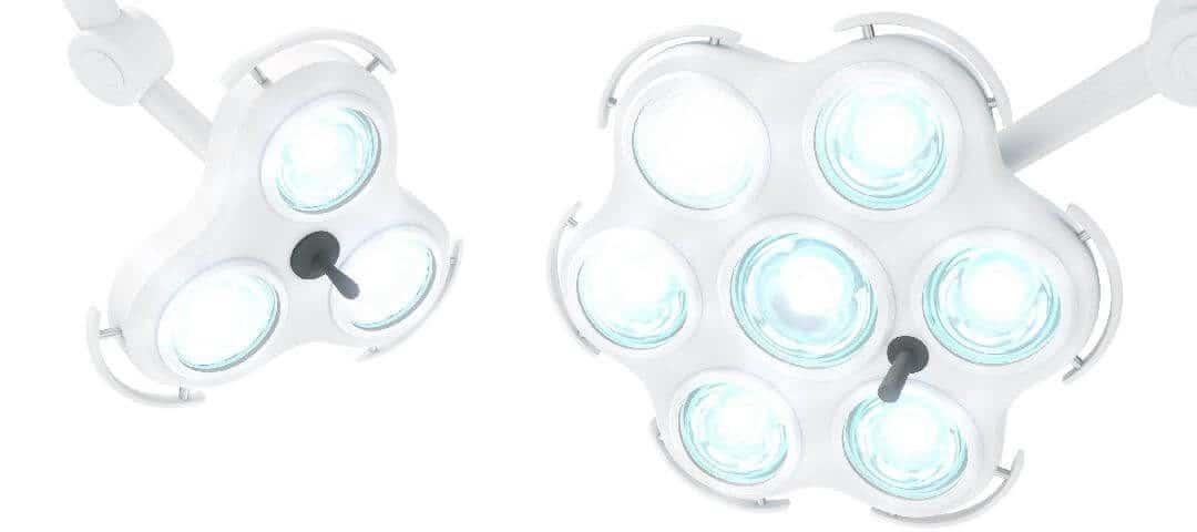 Nowoczesne lampy medyczne w technologii LED