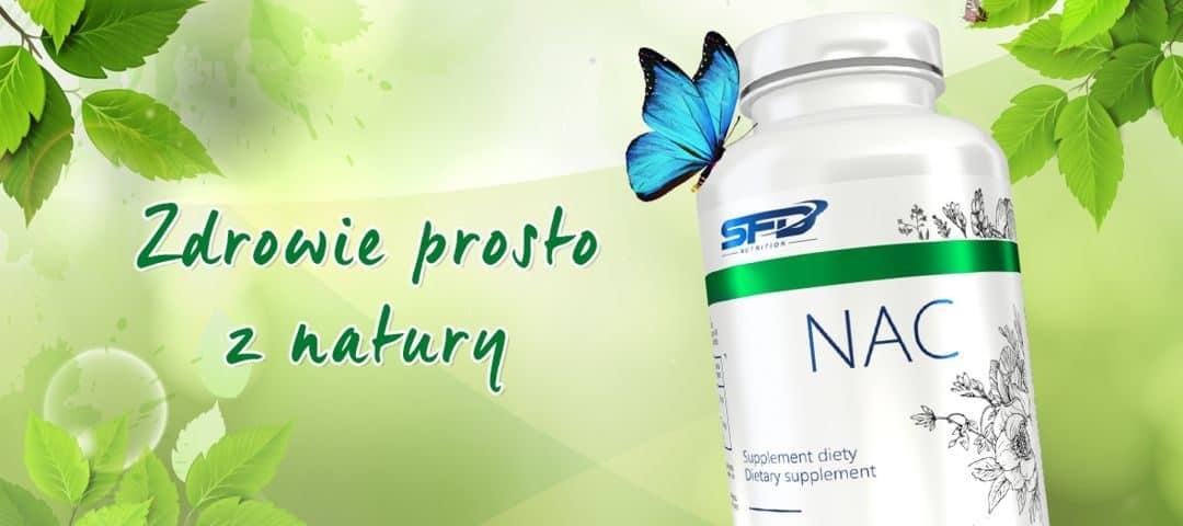 SFD Nutrition NAC przywraca prawidłową pracę wątroby