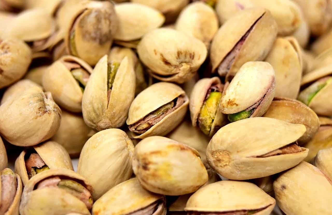 pistacje, właściwości