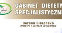 Gabinet Dietetyki Specjalistycznej Bożena Sierońska