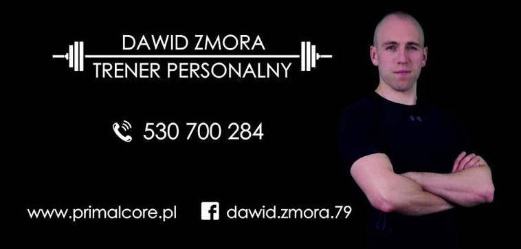 Trener personalny Dawid Zmora