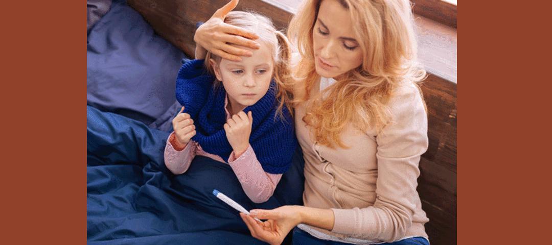 Gorączka u dziecka. Jak sobie z nią radzić?